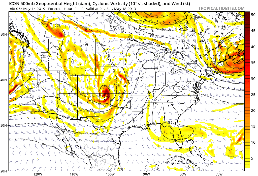 Flip into a Tornado Pattern for the Weekend