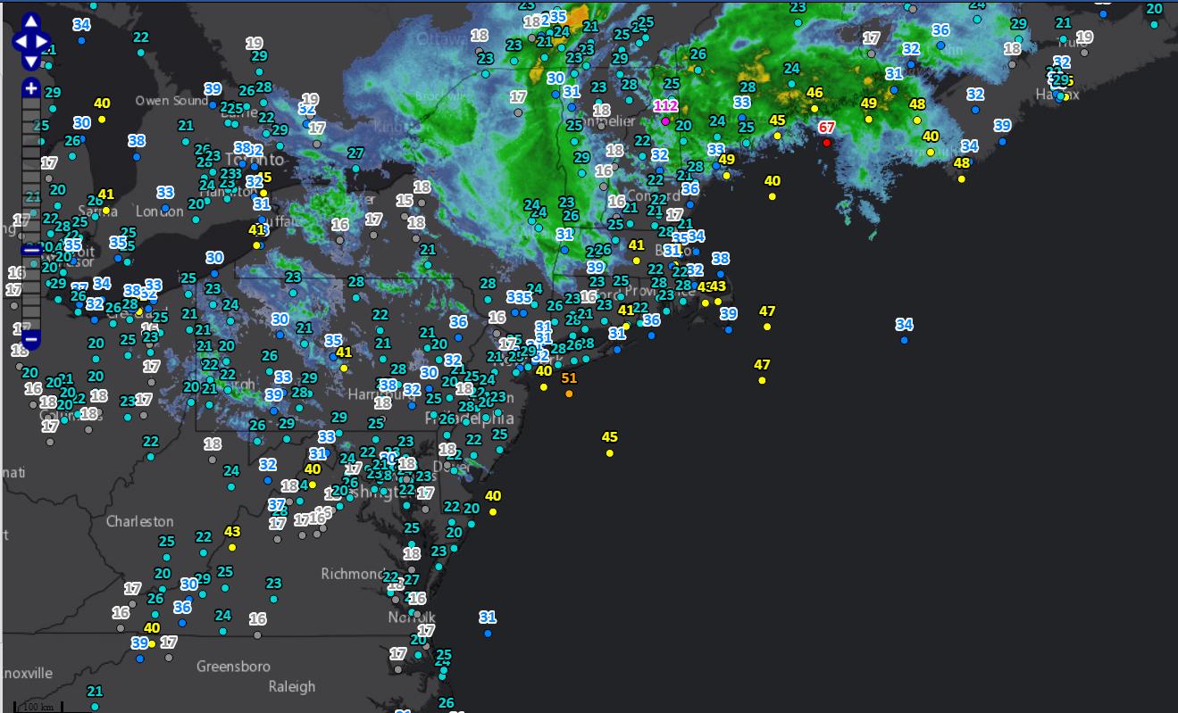 Marine Forecast: Tropical System Gulf of Mexico to New England