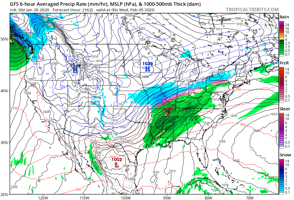 Pattern will Get Colder Next Week with Snow. Coastal Storm Yes, Snow?