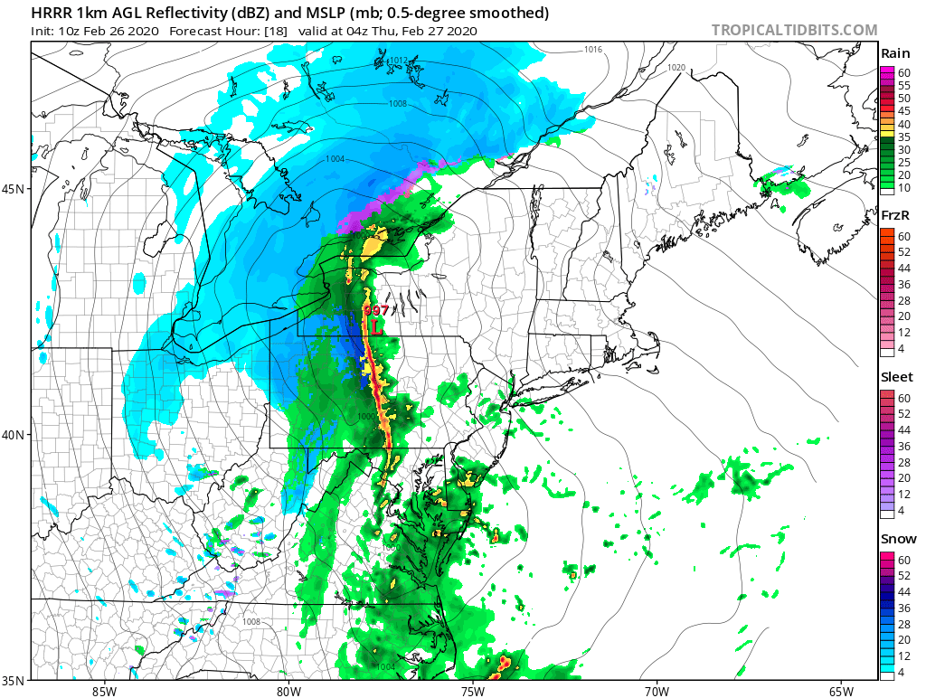 Big Daddy Snowstorm with Near Blizzard Conditions, High Winds with Thunderstorms Too!