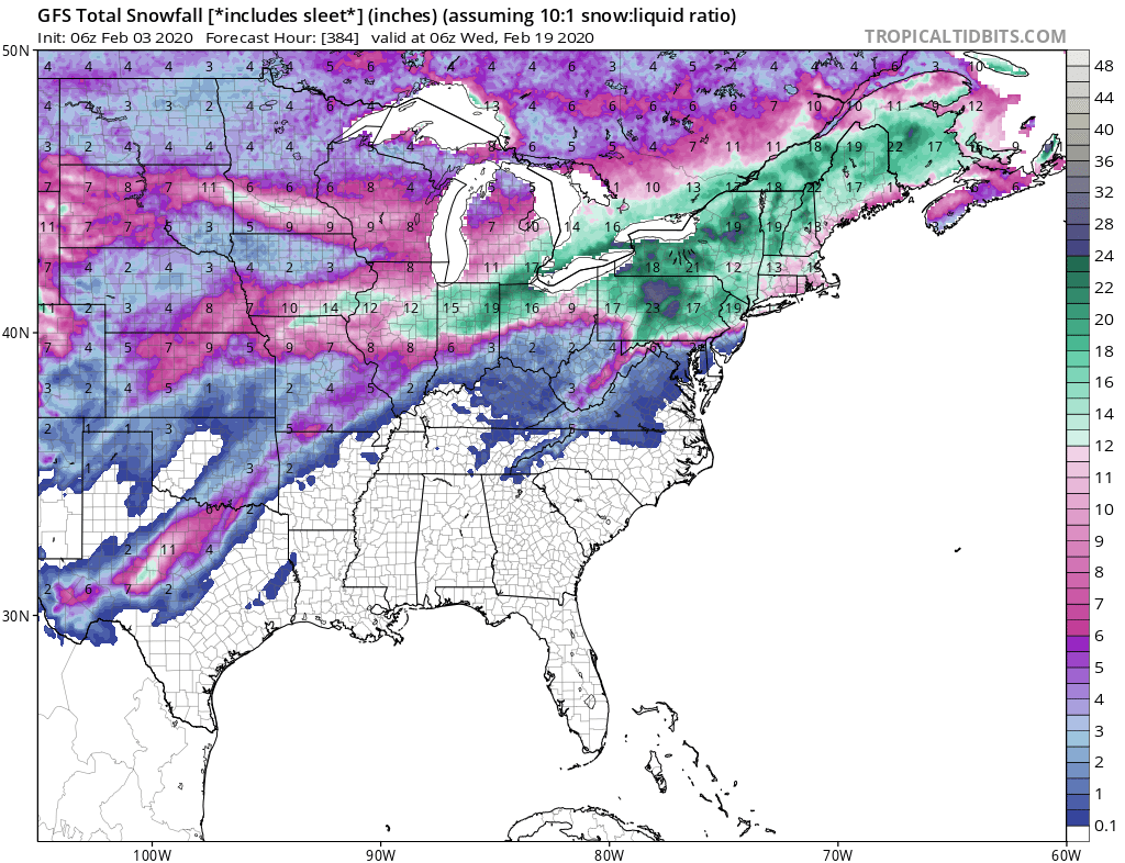 About 3-4 weeks of Winter Before it all Ends. That Means Lots of Snow and Ice Problems