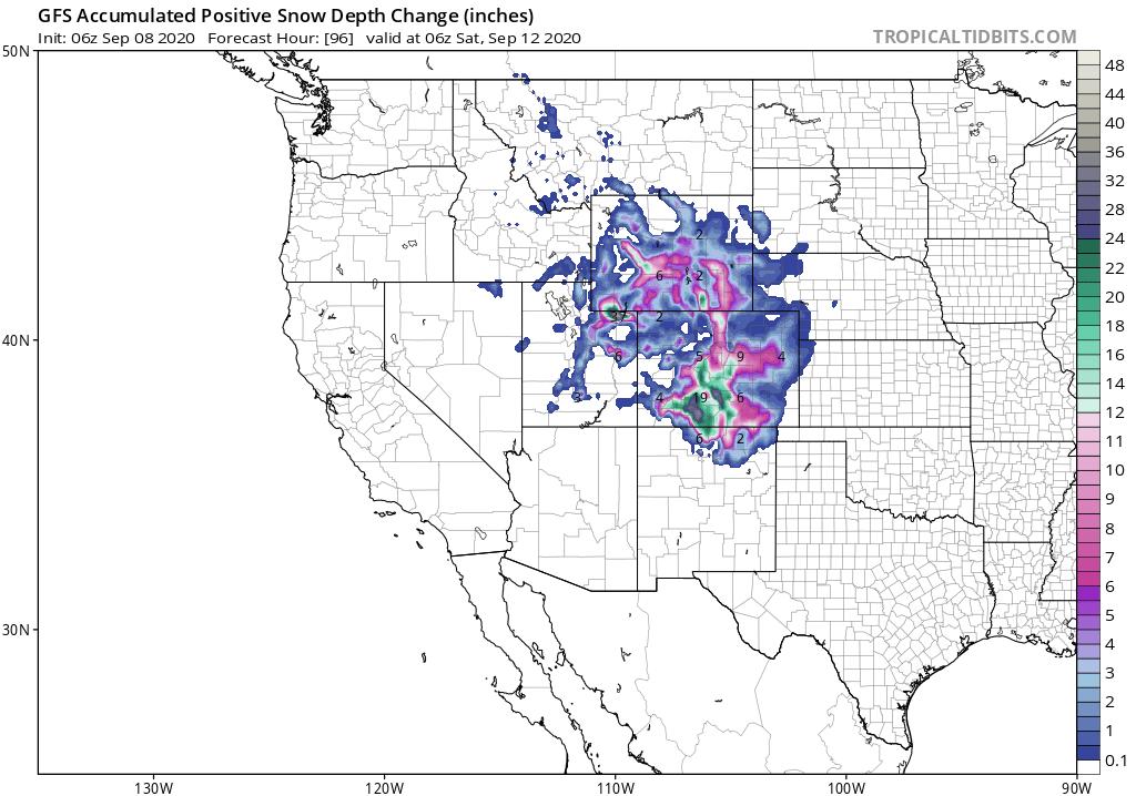 Southeast Development Likely….Rockies Snowstorm Followed by Texas Rains!