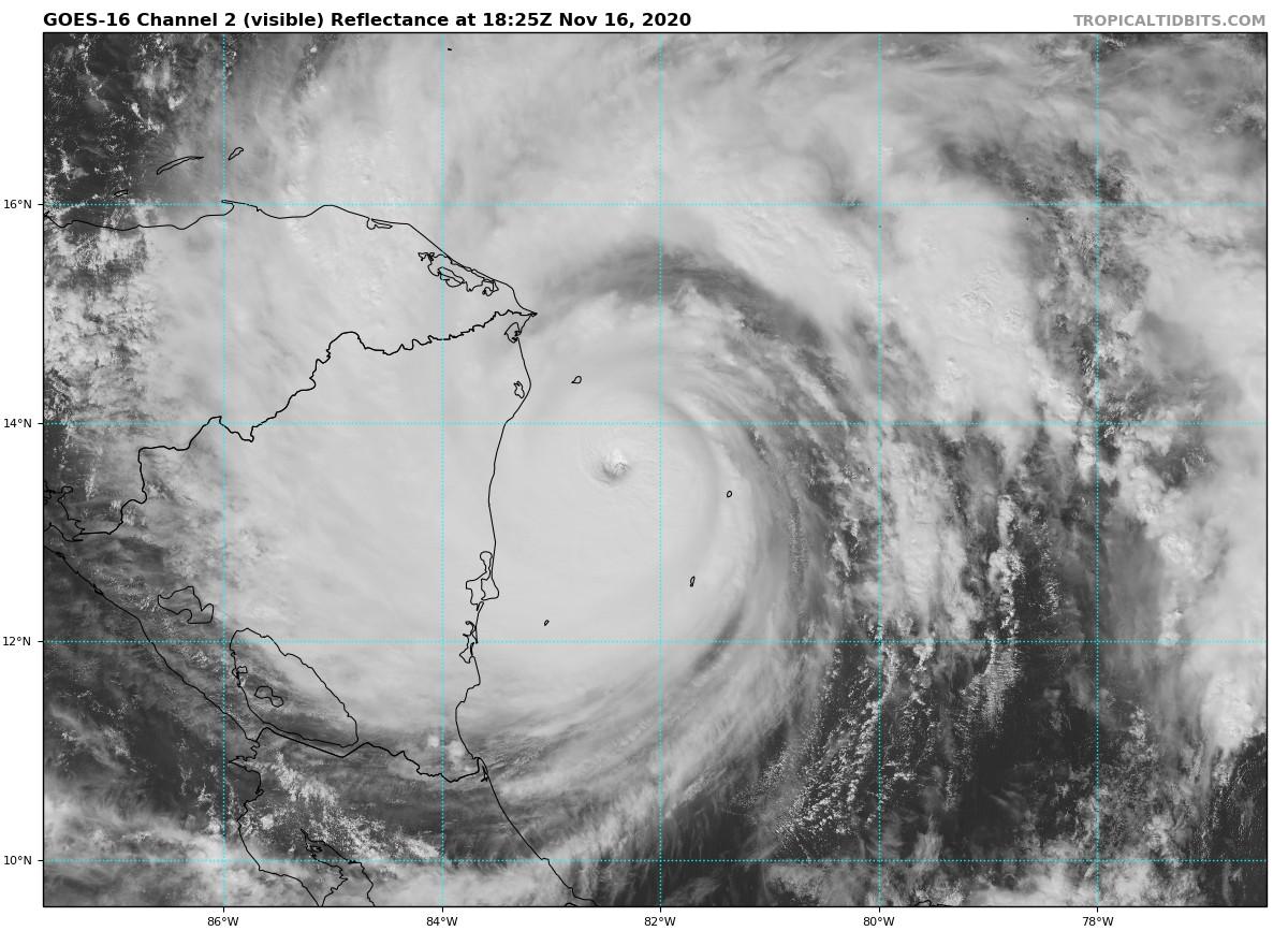 Iota Now the Record Latest Cat 5 Hurricane. DEVASTATION Set for Central America!