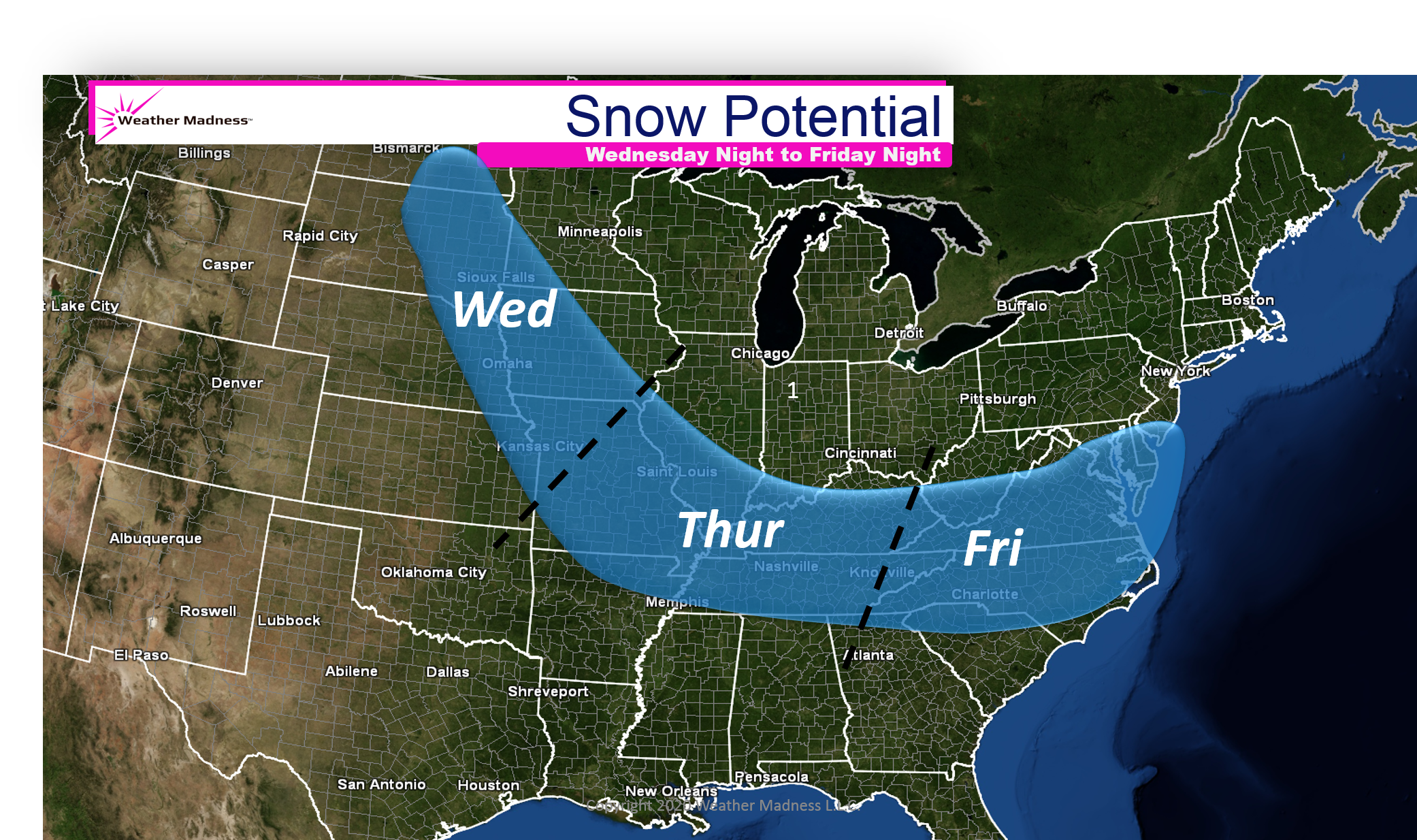 Storm Potential this Week
