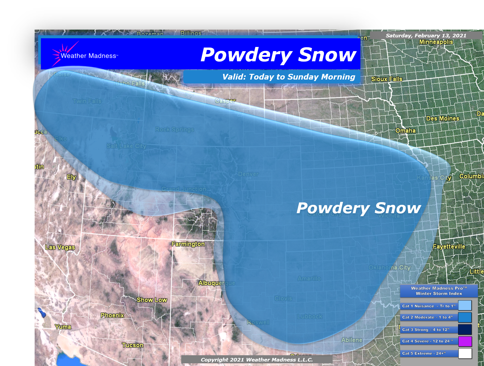Western Snows and Powdery Plains Snow