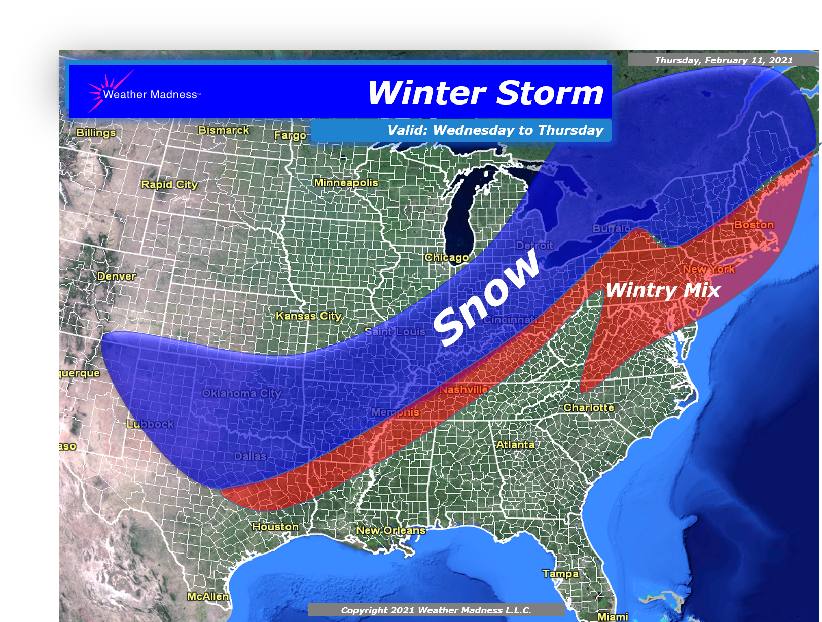 A Look at the Storm Later Next Week