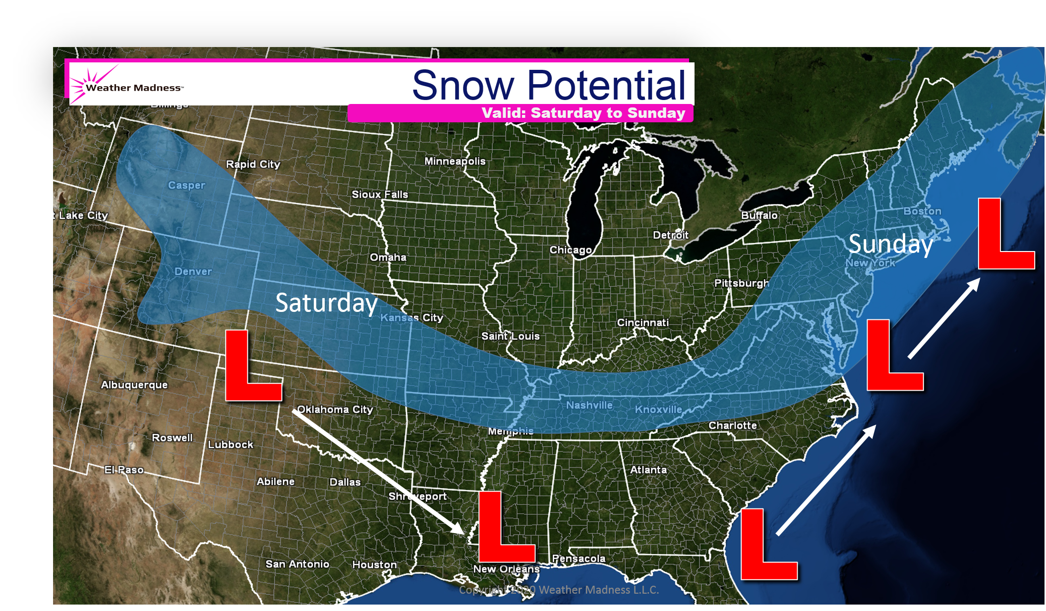 Phases May Yet Occur with Weekend Storm