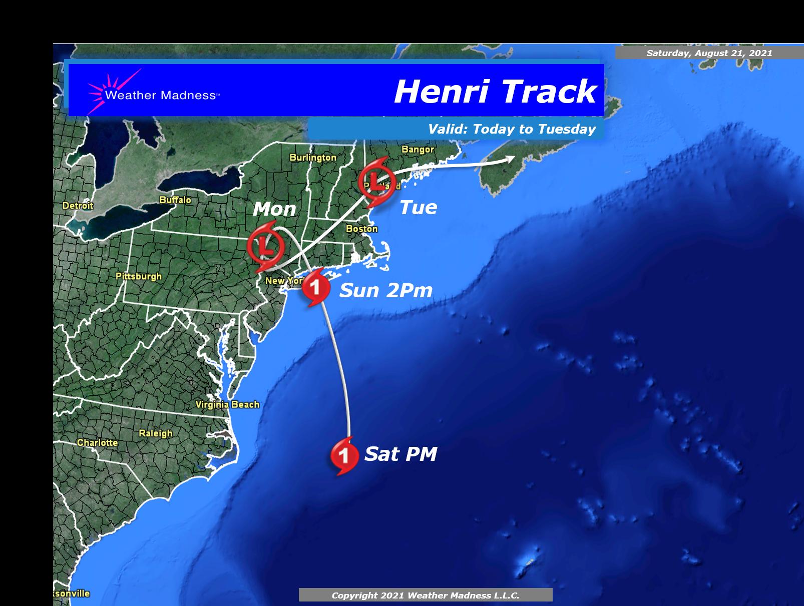 Special Video Post on Hurricane Henri