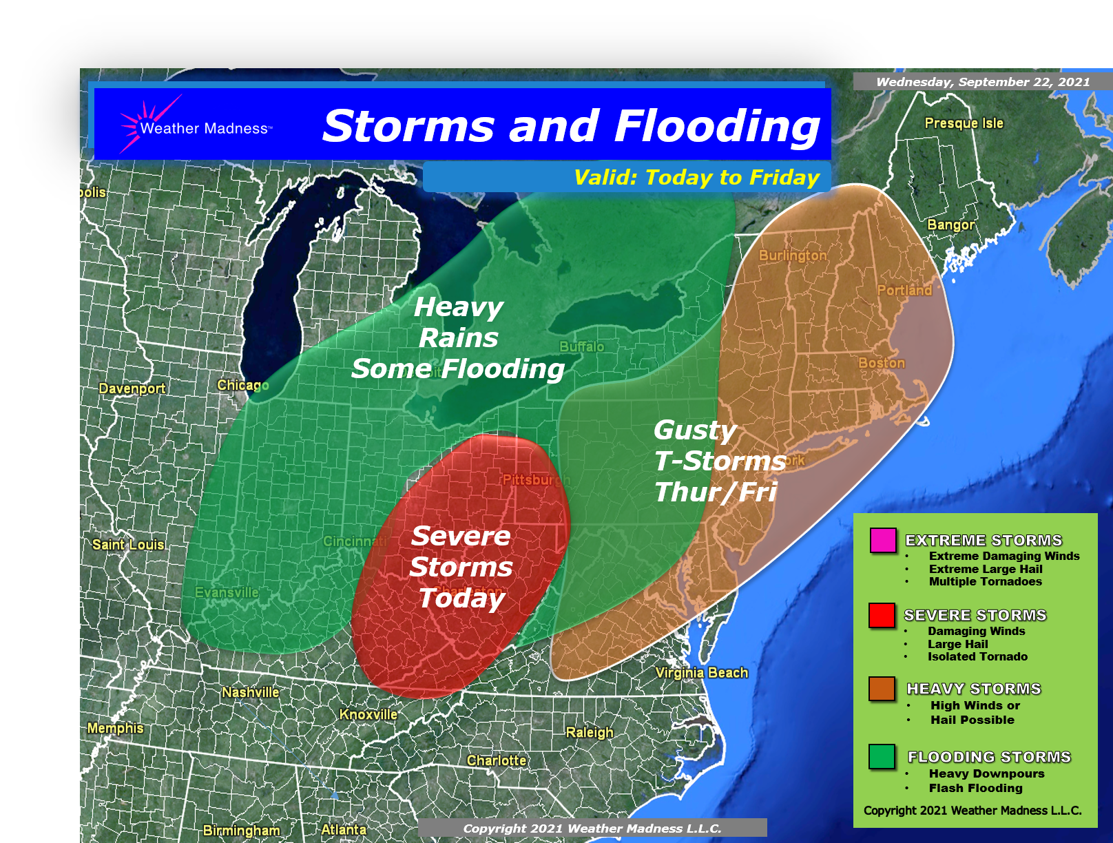 Storm Brings Heavy Rains and Heavy Storms!