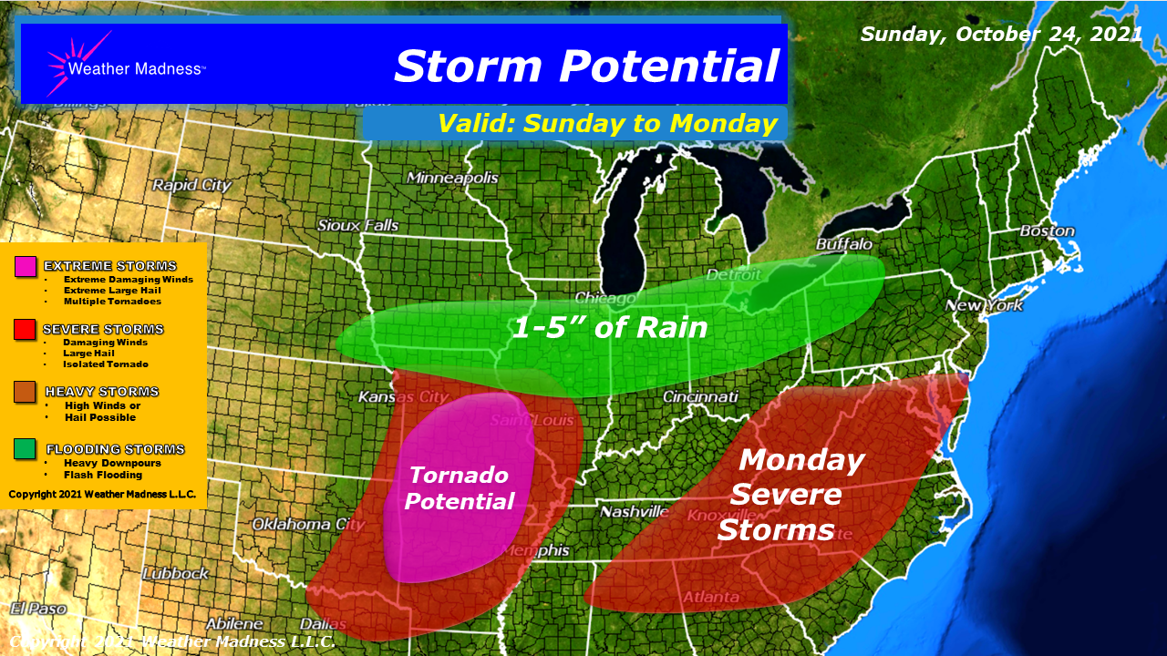 Update on the Storm Today into Monday